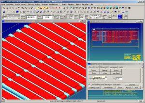 CAD Fertigteilbau Ziegeldecke