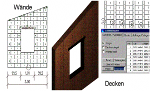 CAD Fertigteilbau Ziegelwand