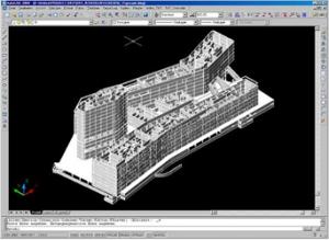 Gebäudeentwurf-Render CAD Achitektur für AutoCAD BricsCAD MicroStation