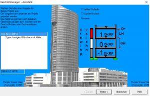 CAD-Geschossmanager CAD Achitektur für AutoCAD BricsCAD MicroStation