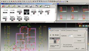 CAD Fertigteilbau Liaporwände